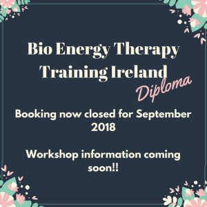 Bio Energy Therapy Training Ireland